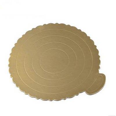 【蛋糕墊-6寸-10個/組】8寸蛋糕墊圓形金托 蛋糕硬紙墊 生日蛋糕底托 硬質加厚-8070701