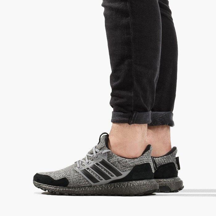 【日本海外代購】adidas Ultraboost 4.0冰與火之歌 權力遊戲 黑灰 休閒鞋 慢跑鞋 聯名款 男女鞋 EE3706