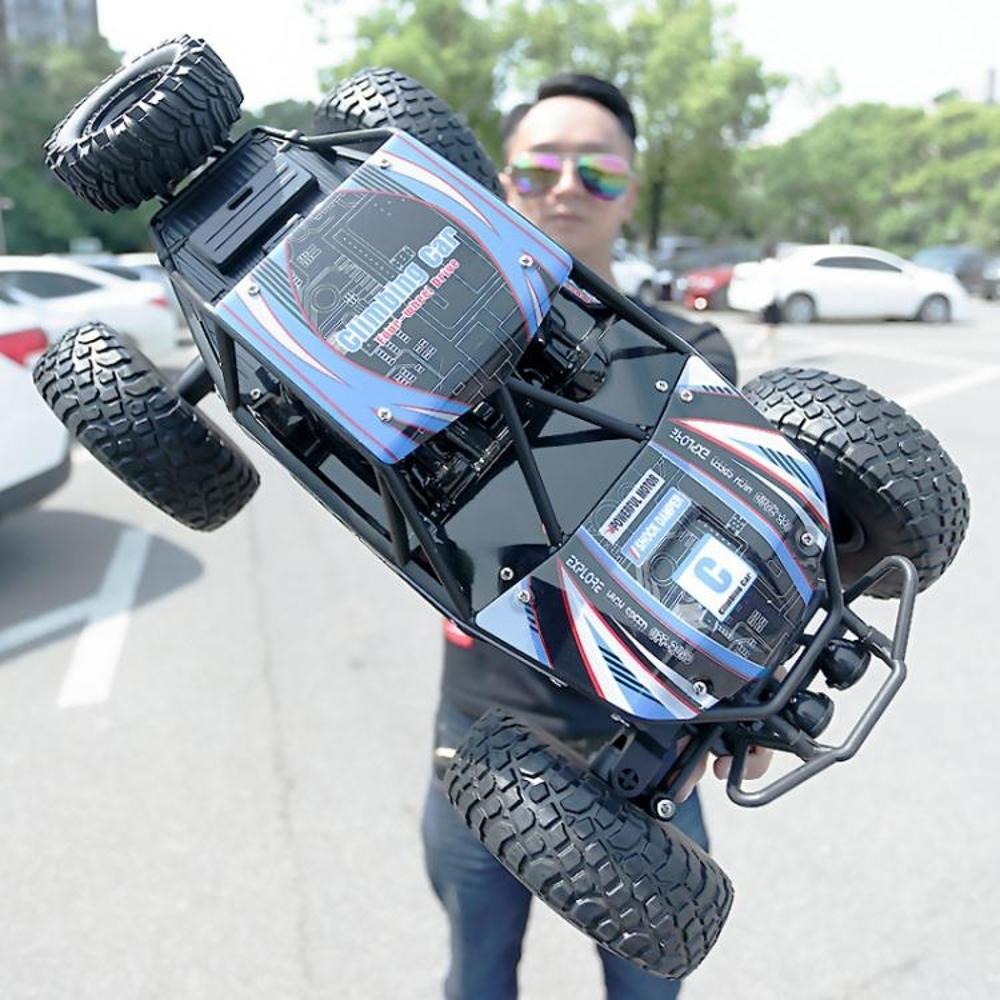 大號遙控汽車越野車四驅充電動耐摔高速攀爬大腳車男孩子兒童玩具  極客玩家 ATF