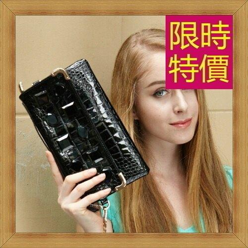 ★晚宴包 鏈條包-時尚高雅氣質皮革女手拿包4色58z9【韓國進口】【米蘭精品】
