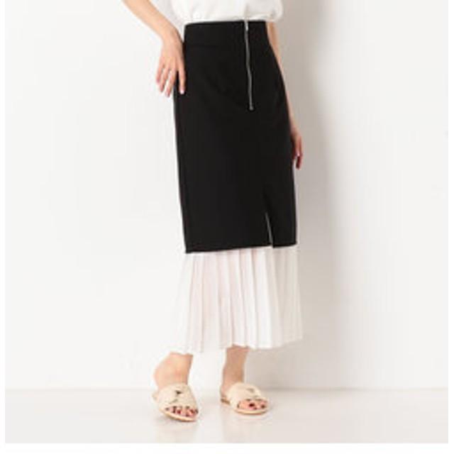 【archives:スカート】プリーツレイヤードロングスカート
