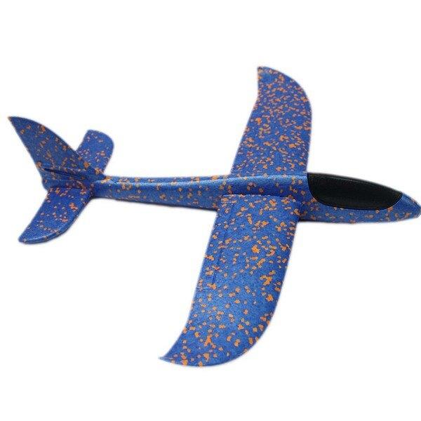 48cm 安全飛機 超大 DIY無動力手投滑翔機/一個入(促99) EPP泡沫滑翔機 手拋飛機 360度手拋平飛 特技 兩種飛行模式-錸-佳YF15507-XF5277
