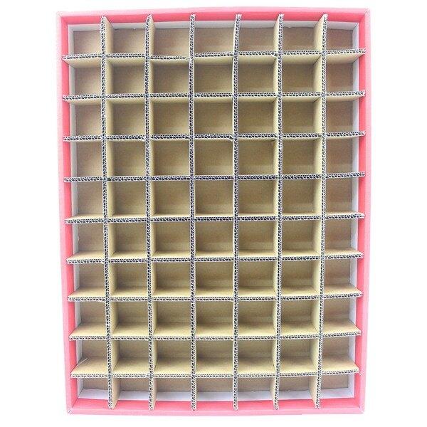 70孔 DIY洞洞樂空殼 洞洞樂空盒(紙盒)/一個入(促250) 托洞 戳戳樂空盒~全