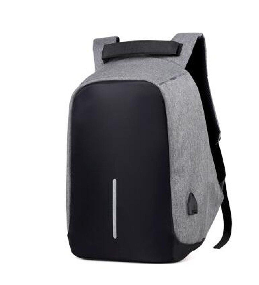 雙肩包男15.6寸電腦包多功能防盜書包學生青年背包男旅行休閒商務  全館八五折