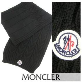 完売御礼/モンクレール MONCLER Jr メンズ マフラー 0001605 04S02 999/ブラック/1920aw