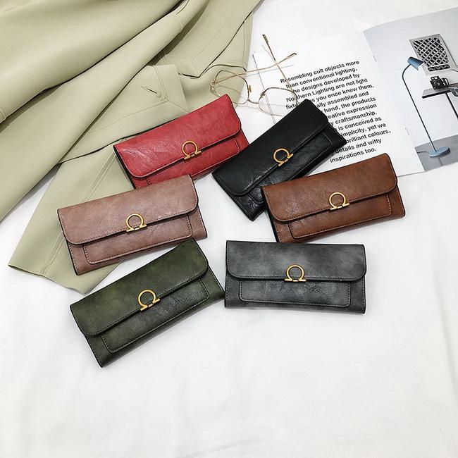 FOFU-錢包手拿包簡約長夾錢包錢夾【08G-T0273】