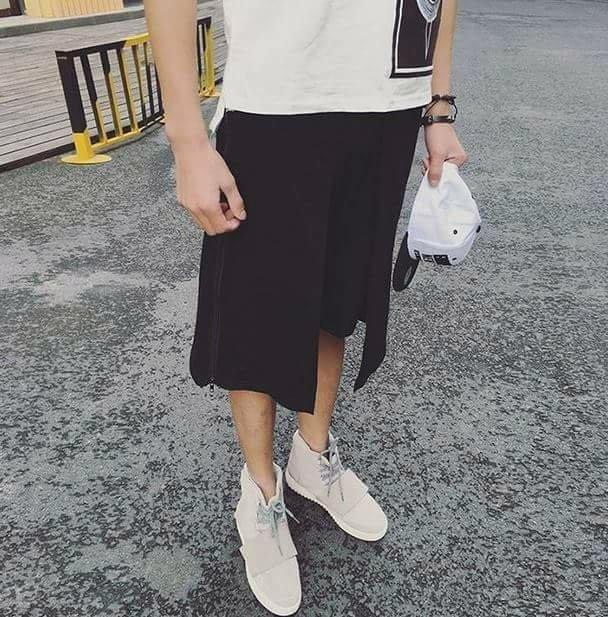 JP美日韓 GD概念 褲裙 兩件式 褲群穿搭 概念 美髮師 設計師 時尚設計 穿搭 懂得會懂 你設計