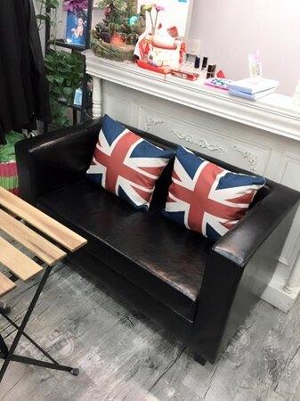 簡約現代服裝店沙發小戶型用的單人雙人三人沙發休閒布藝店鋪沙發 生活樂事館NMS 母親節禮物