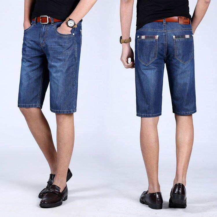 經典潮流簡約抓紋造型百搭牛仔短褲