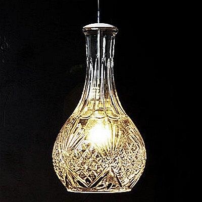 【威森家居】美式 玻璃酒瓶吊燈 現貨原木工業風現代簡約復古吸頂燈吊燈壁燈大廳客廳臥室陽台燈具LED設計師 L170426