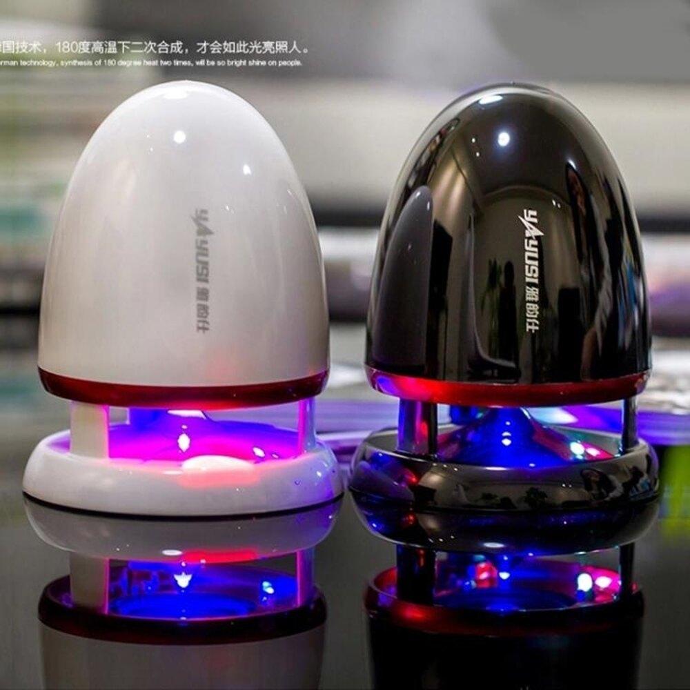 台式電腦音響usb喇叭低音炮外放迷你小音箱手機外接有線影響家用 歐韓時代