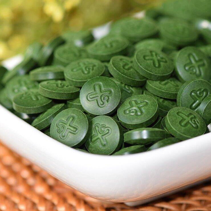 綠藻(Chlorella)2000錠➠補充膳食纖維,刺激腸道蠕動