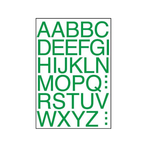 華麗牌 WL-2062 英文字母標籤 (15mm) (A~Z) (64 張/包)