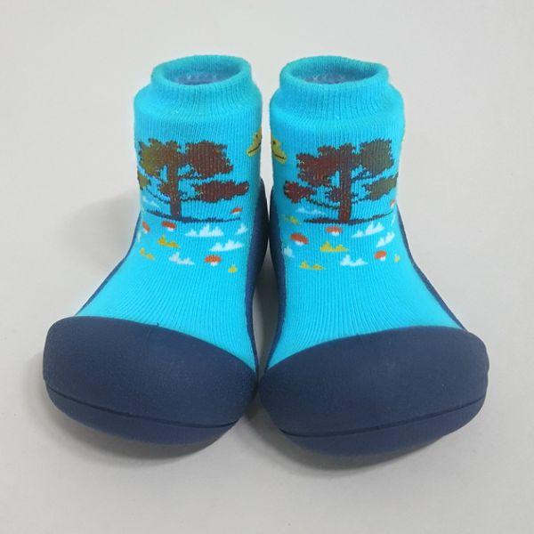 韓國 Attipas 快樂腳襪型學步鞋-森林之歌