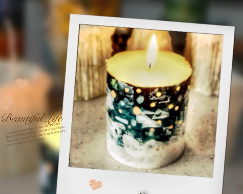 城市塗鴉創意蠟燭 & 星球創意蠟燭 設計課程 ( 歡迎電洽報名 02-28082185 )