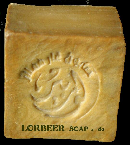[敘利亞洛貝爾LORBEER] 正宗阿勒坡手工淨膚古皂180G 5%月桂油+95%橄欖油