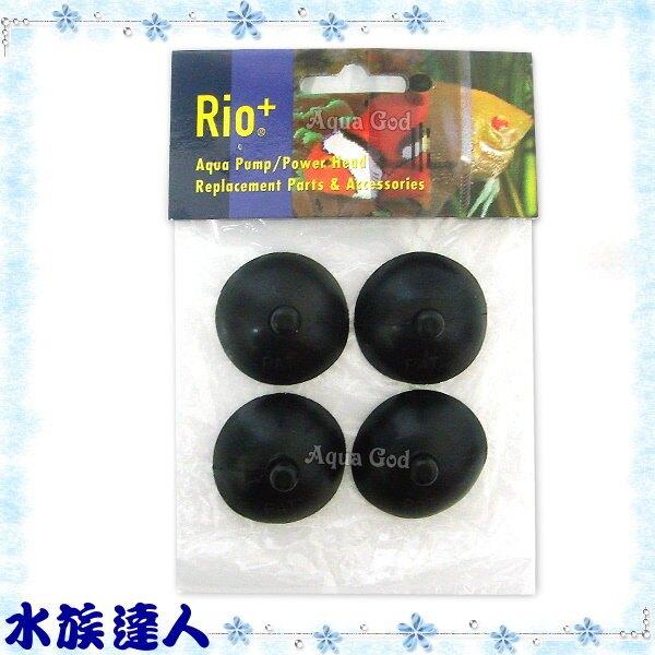 【水族達人】台灣製造Rio《沉水馬達專用吸盤(大).4入/包》