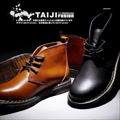 TAIJI【NTJB6225】日韓風格精細整工透明牛津底綁帶平底靴二色帆布/高筒/增高/工作★