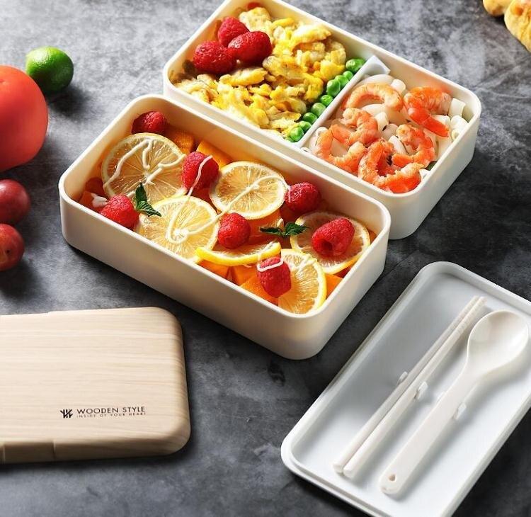 便當盒 304不鏽鋼日式飯盒便當分格健身餐盒簡約可微波爐專用加熱餐 全館八八折