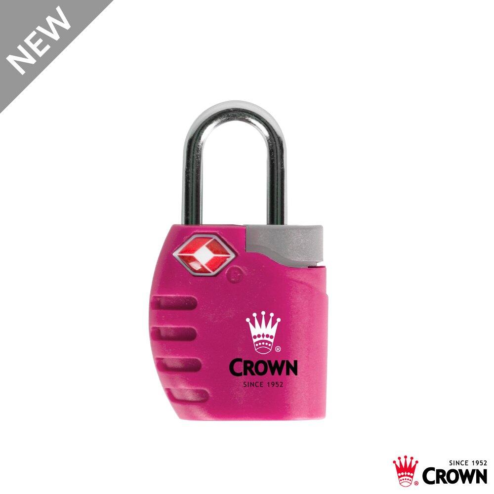 【加賀皮件】CROWN 皇冠 多色 鑰匙海關鎖 鑰匙鎖 TSA海關鎖 C-5-TS300