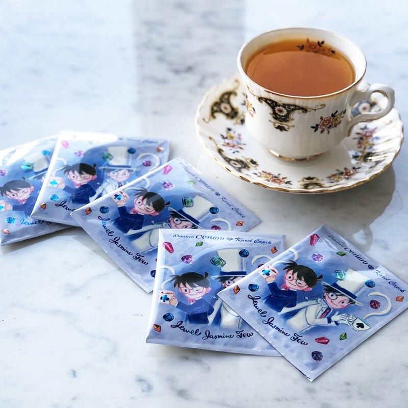 日本紅茶【卡雷爾恰佩克Karel Capek】山田詩子 名偵探柯南 寶石茉莉紅茶包 5包入