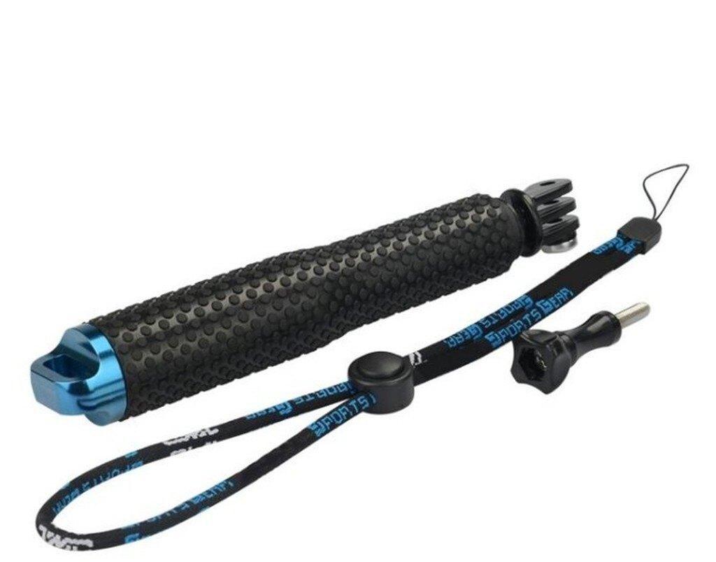【中壢NOVA-水世界】GoPro HERO SJ6000 TMC 防水防塵 防滑握把 可伸縮自拍棒 自拍桿 48cm