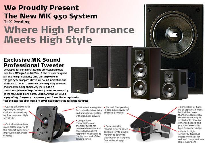 【台南鴻運】M&K MK SOUND LCR-950 Plus 書架式喇叭 (腳架可另購)