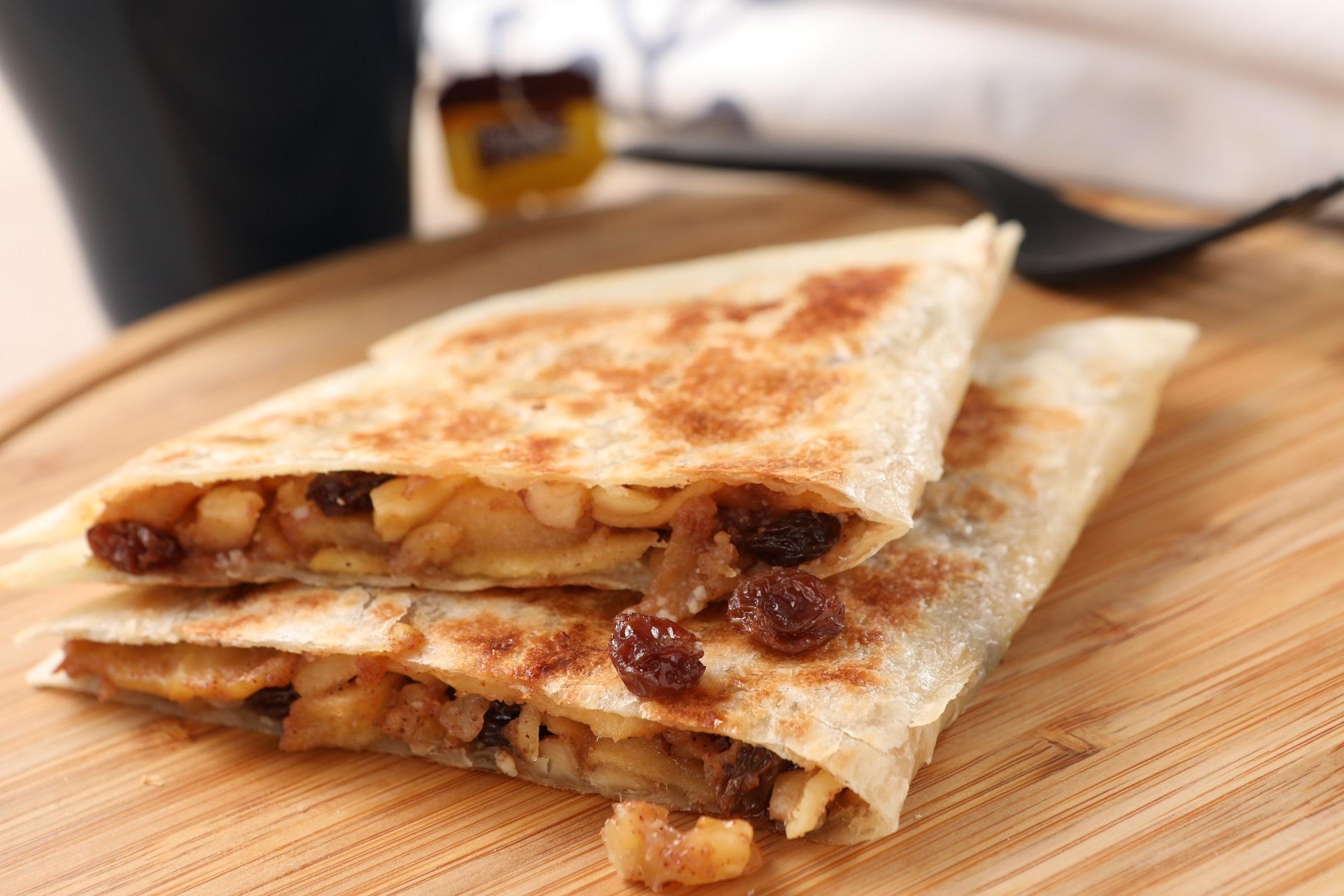 蜂蜜肉桂蘋果餡餅(奶素可) 1入- Mo薯 墨西哥餡餅