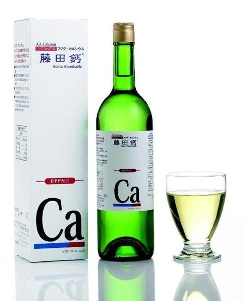 (12瓶特惠) 藤田鈣液劑 750mlX12瓶 (專利AA鈣、胺基酸螯合鈣) 專品藥局 【2008225】