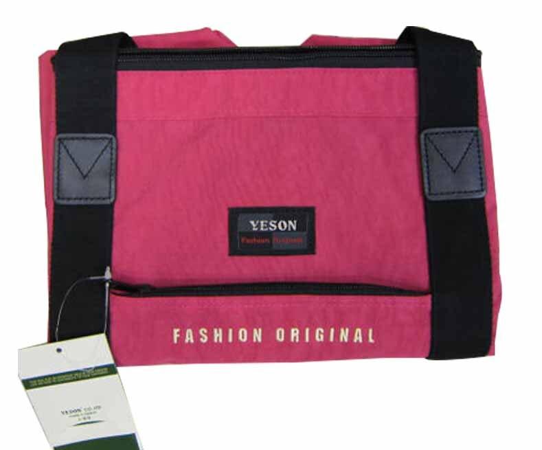 限時 滿3千賺10%點數↘   ~雪黛屋~YESON 購物袋手提肩背大容量環保購物袋批發採購袋高單數防水尼龍布超級耐磨耐重台灣製造品質保證Y350