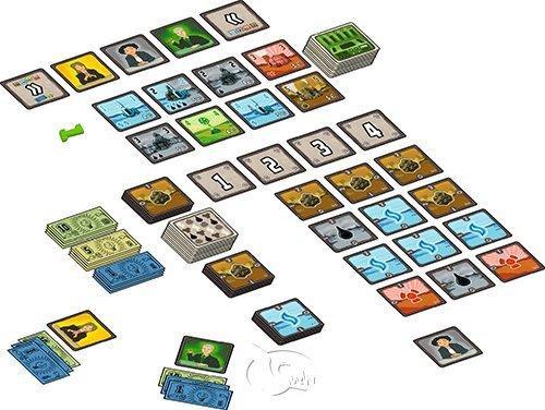 電力公司 紙牌版 POWER GRID CARD GAME 繁體中文版 高雄龐奇桌遊 正版桌遊專賣  新天鵝堡