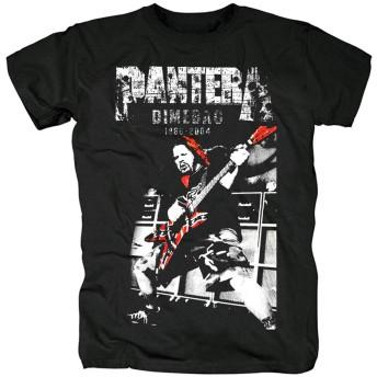 qiaoqiao Pantera ヒップホップ ロック 流行 欧米風 音楽 メンズ/レディース Tシャツ/夏服 半袖 Tシャ