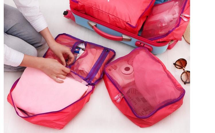 【八八八】e網購~【旅行收納袋5套裝LA215】NO135