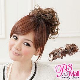 PS Mall造型師新秘必備 髮量增多 扣式造型長捲髮條假髮【P008】