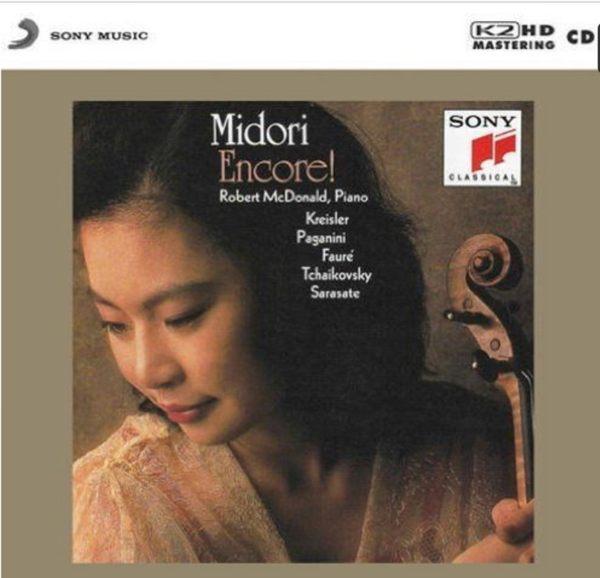 【停看聽音響唱片】【K2HD】Midori Violin Robert McDonald Piano