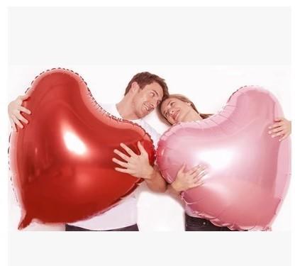 心形鋁膜氣球