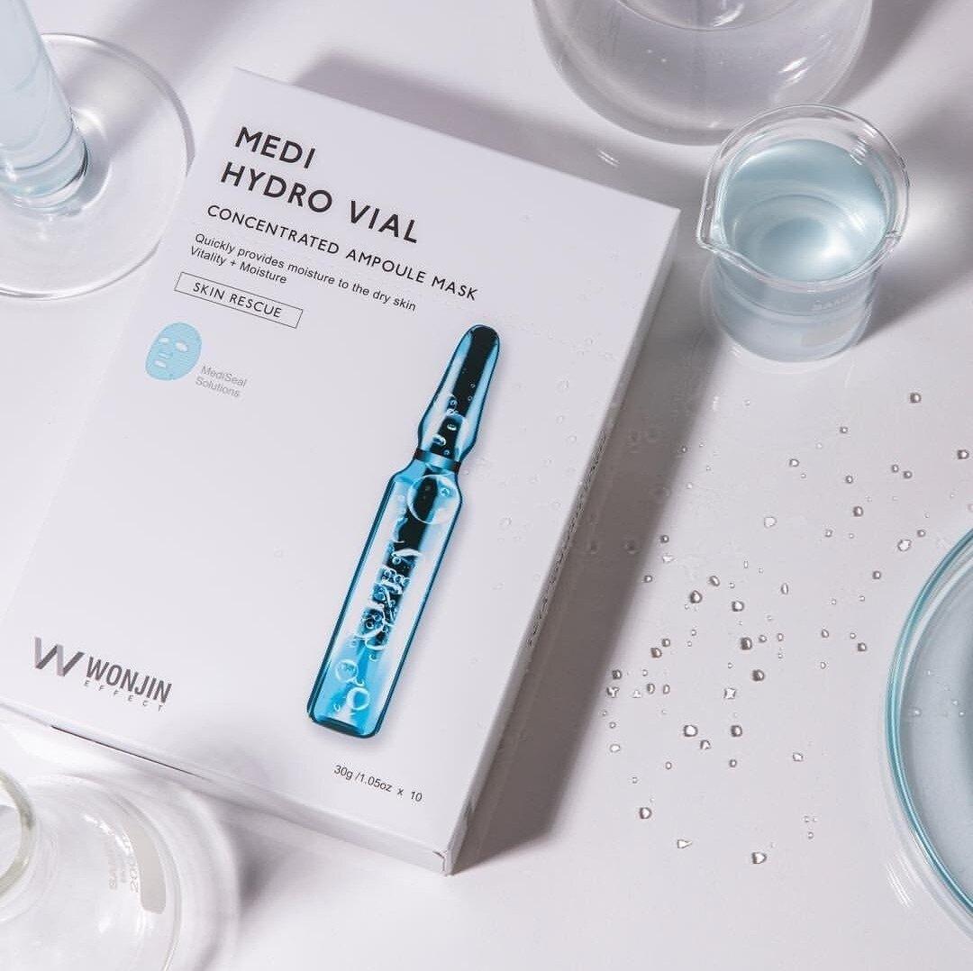 Winning Effect 原辰煥能再生面膜 透明質酸面膜 安瓶補水面膜 點滴面膜