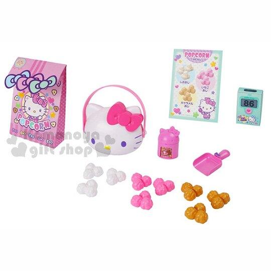 小禮堂 Hello Kitty 零食玩具組《多款.粉.白.咖.大臉盒.》內附替換玩具