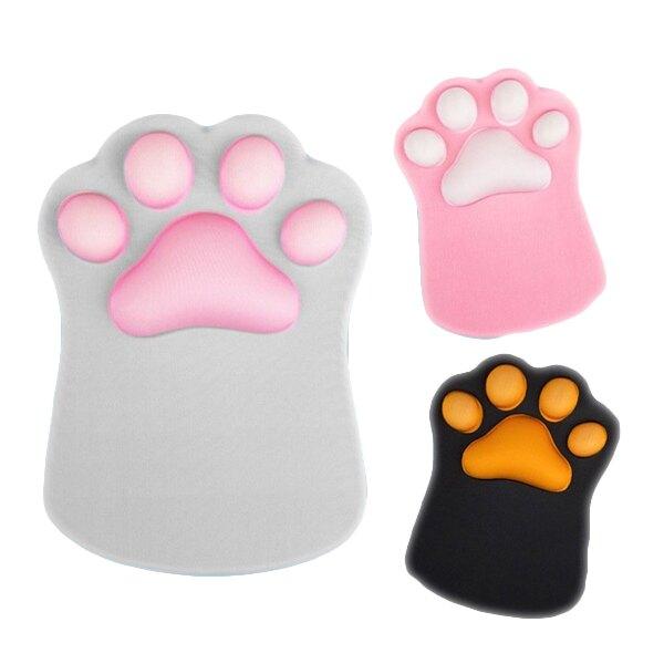 aibo Q彈3D立體貓掌護腕滑鼠墊
