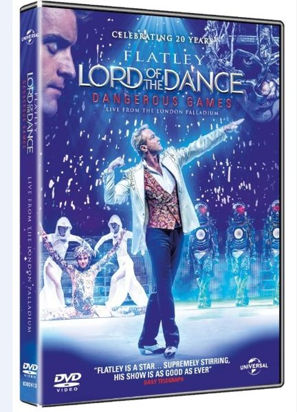 舞王 : 危險遊戲 Lord of the Dance: Dangerous Games (DVD)