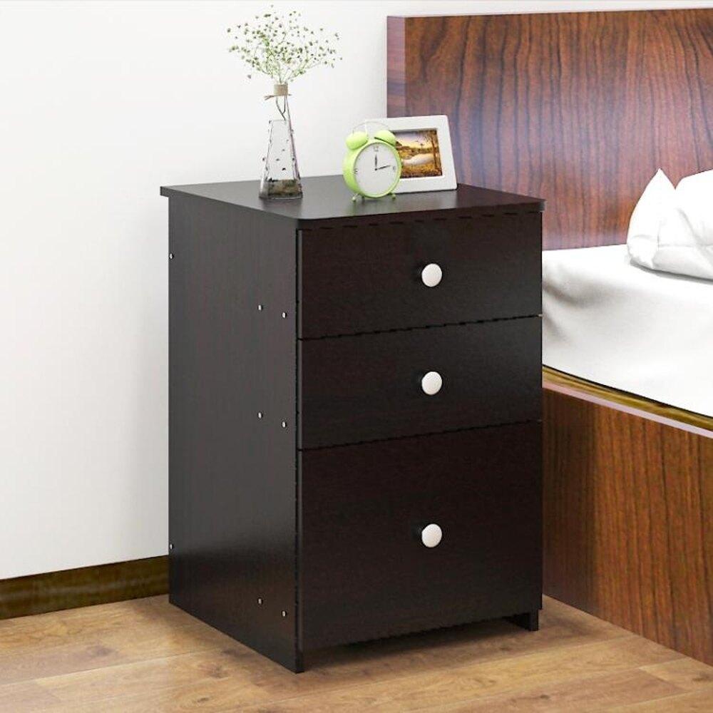 床頭櫃 億家達床頭櫃簡約現代儲物櫃臥室多功能床邊櫃創意斗櫃簡易小櫃子 MKS 清涼一夏钜惠
