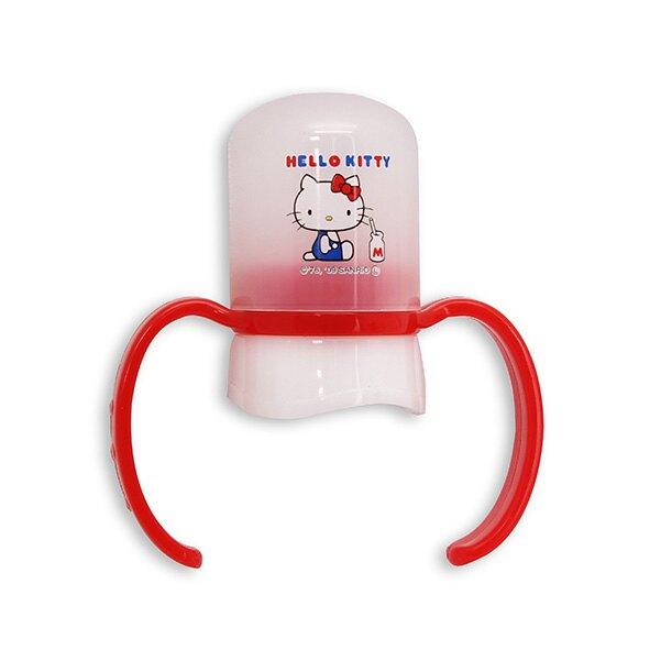 AKACHAN阿卡將 Hello Kitty奶瓶(寶特瓶)訓練把握組
