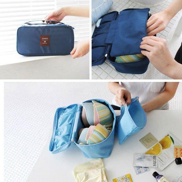 Loxin 旅行內衣女收納包【SJ0252】胸衣胸罩旅遊收納袋 旅行行李箱收納袋