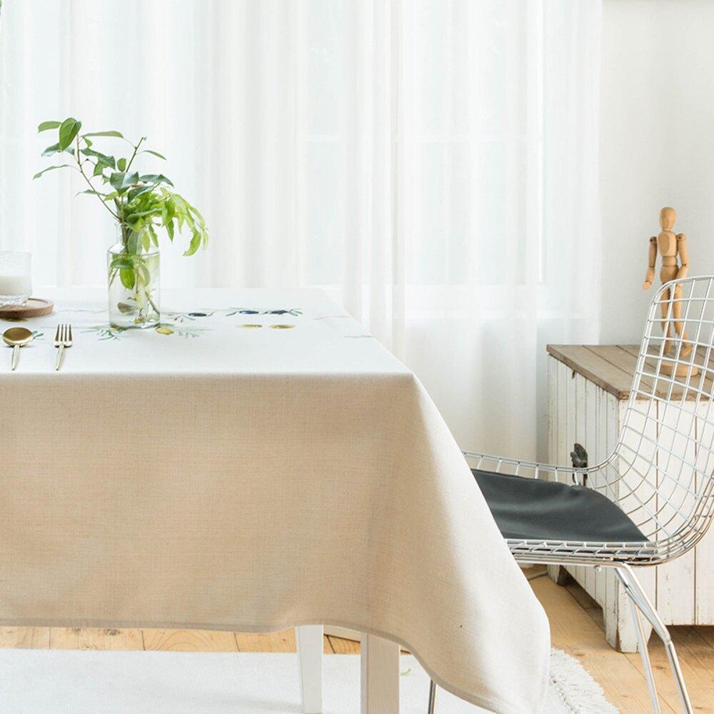 ✤宜家✤時尚可愛空間餐桌布 茶几布 隔熱墊 鍋墊 杯墊 餐桌巾399  (140*140cm)