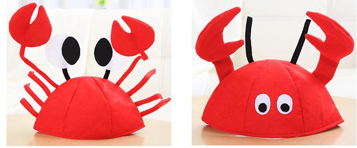 東區派對-動物帽/海洋動物帽/螃蟹帽/龍蝦帽子