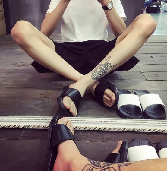 BIRDYEDGE MD  拖鞋 厚底涼鞋  厚底拖鞋 增高拖鞋 拖鞋 涼鞋  黑 白 兩色 男女