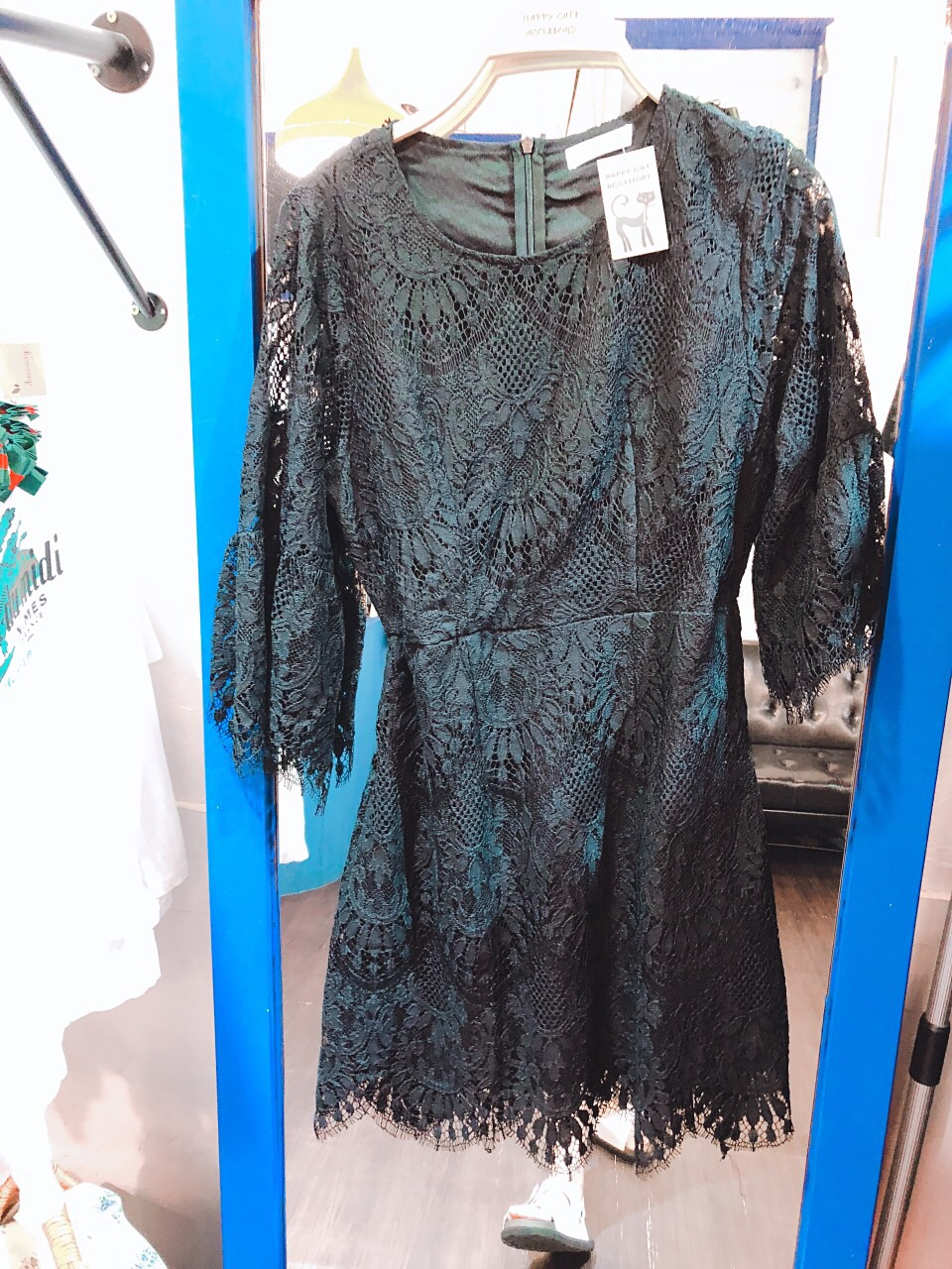 女神蕾絲洋裝