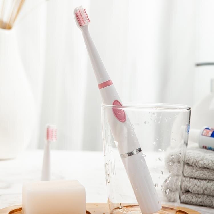 電動牙刷成人男女家用軟毛非充電式.防水美白自動情侶牙刷
