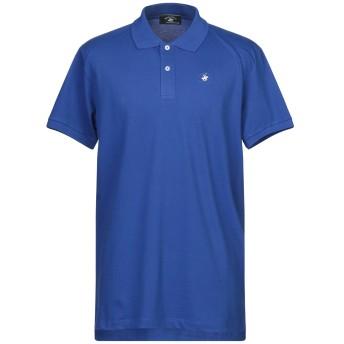 《セール開催中》BEVERLY HILLS POLO CLUB メンズ ポロシャツ ブルー XXL コットン 97% / ポリウレタン 3%