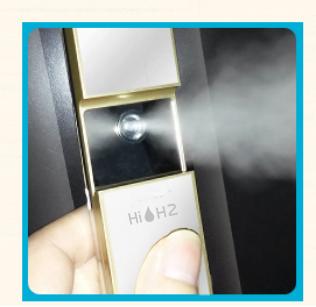 HIH2水素水專用奈米噴霧機 美容噴霧器 補水神器手持噴霧機補水儀便攜充電納米冷噴保濕美容儀
